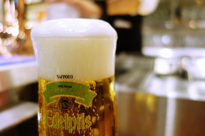 とっておきのプレミアムビール「エーデルピルス」