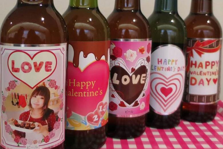 お酒好きに贈ろう♪愛情いっぱいバレンタインビール!