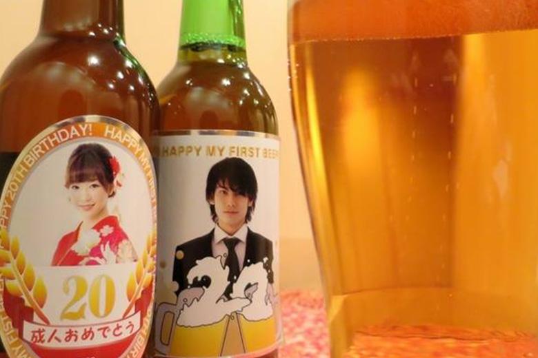 特別なビールで祝★二十歳のお酒デビュー!