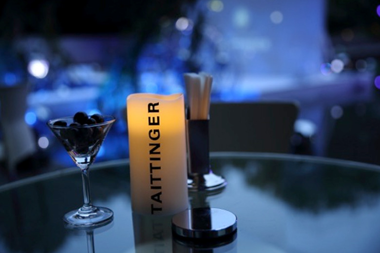 TAITTINGER Brand Experience Night where you can experience the world of champagne in Japan