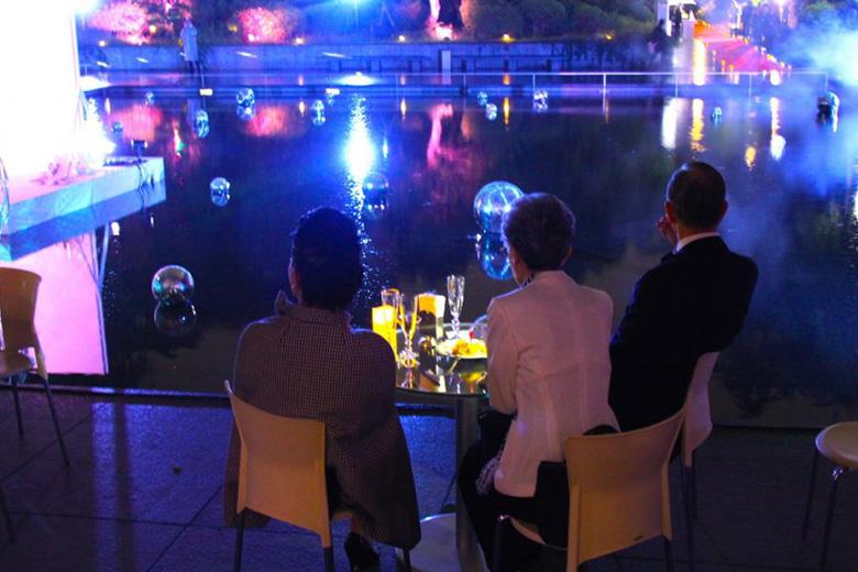 TATTINGER【テタンジェ】ブランドエクスペリエンスナイト【後編】幻想的なアートの競演♪