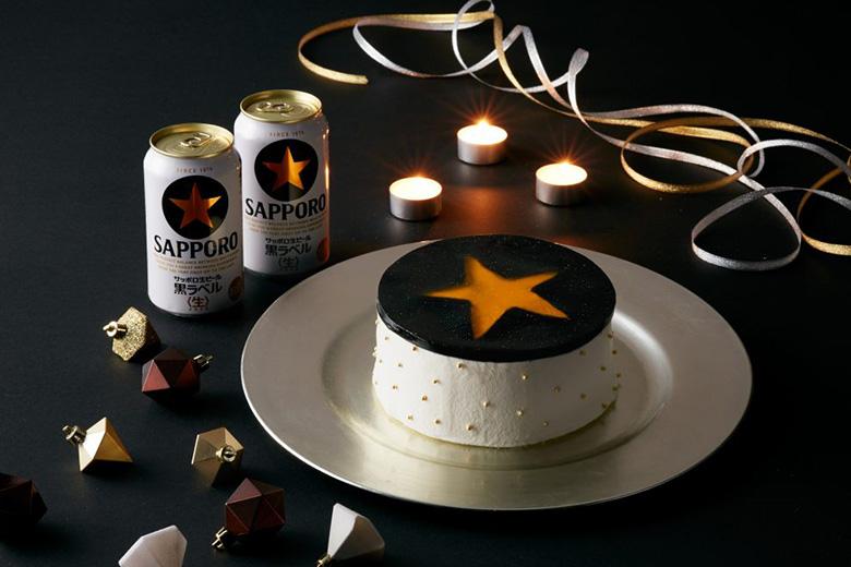 SNSで好反応!写真映えする「黒ラベル」ケーキのデコレーションレシピ公開!!