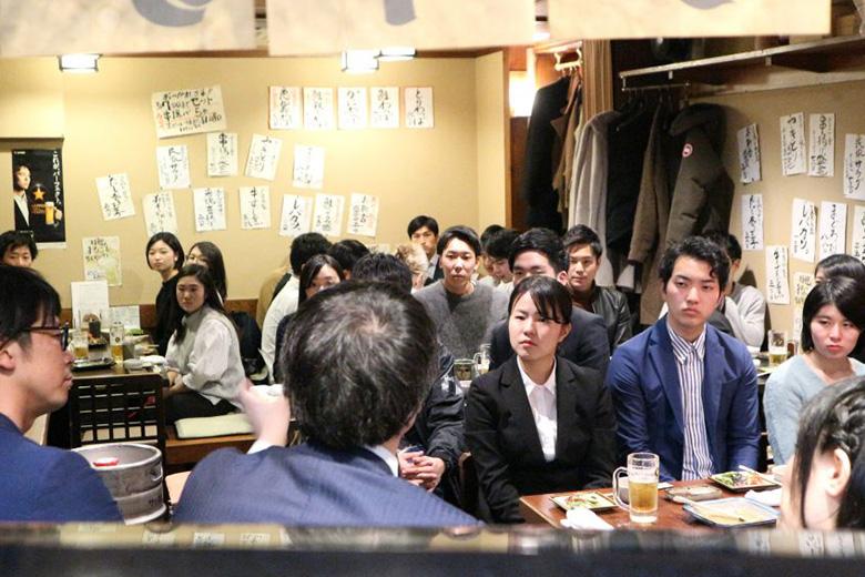 【若手社員Mの潜入レポート】4月1日「黒ラベルの日」に学生向けリアル大人エレベーターイベントが開催されました!