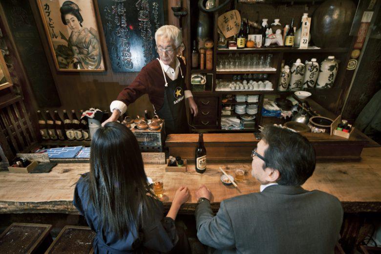 赤星探偵団:赤星★捜査ファイル#15 根岸「鍵屋」ザ・昭和居酒屋で雪見酒と洒落込んで