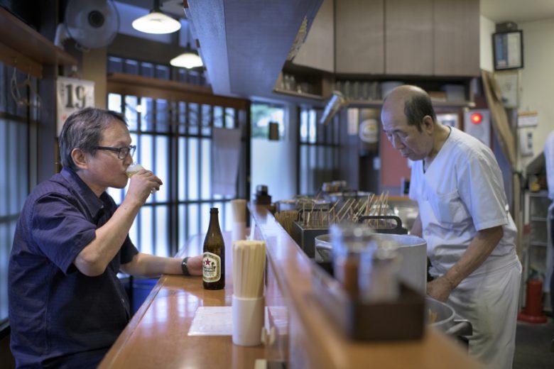 名古屋の味噌おでん、生まれて初めて食べました。<100軒マラソン 第51給水ポイント >