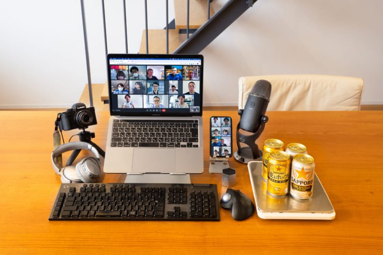 総額50万円の「オンライン飲み会装備」でそこまでやるの!? 「麦とホップ」と「ゴールドスター」で夏のオンライン家飲みを楽しみ尽くす